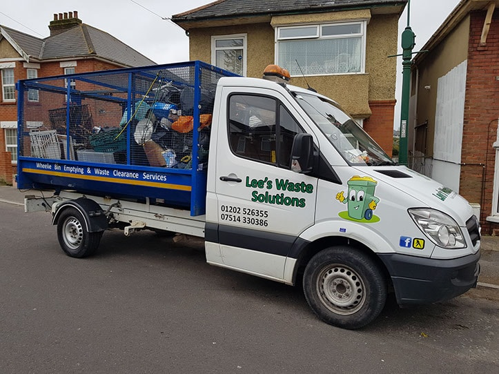 lees waste solutions truck for waste collection