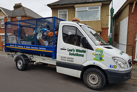 garbage collection vehicle