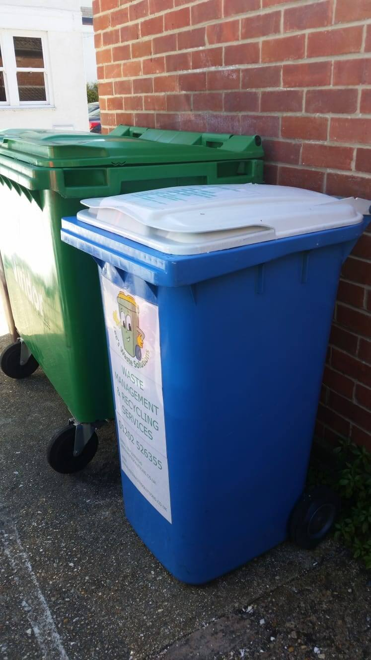 waste collection bin